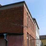 Budova MŠ - pohled zezadu (prostory klubu seniorů)