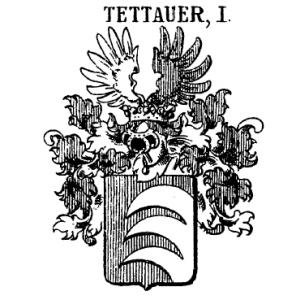Znak panství Frydrycha a Buriana Tetourů