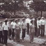 Cvičení TJ Sokol Kudlov (1975)